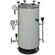 Стерилизатор вертикальный паровой ВК-30-01 (30 л, полуавтоматический, с вакуумной сушкой)